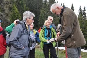 Bergvogel-Exkursion mit Dr. Christoph Meier 10. Mai 2018