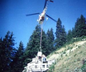 Betonierung 1986