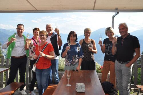 Die GKB zu Gast beim Älplibahn-WineDine mit Andrea Lauber 5.8.2019