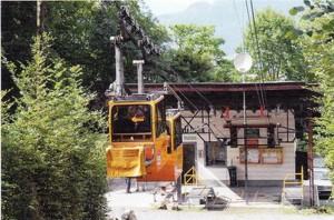 Doppelkabine Talstation 1989