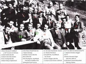Eröffnung Zivilbahn 1945