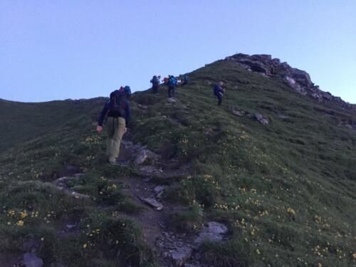 Wandernacht 2019 Seewis Vilan Älpli