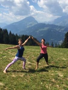 Yoga auf dem Älpli mit Chantal Oettli, 20. Juli 2018
